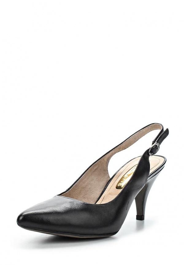 Туфли Tamaris 1-1-29614-24-001 чёрные