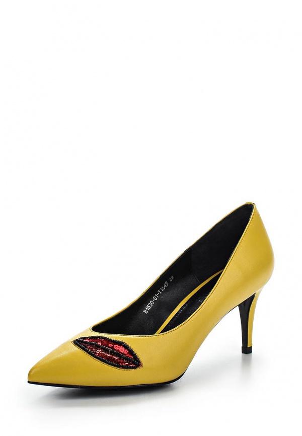 Туфли Grand Style 1530-01/T1545 жёлтые