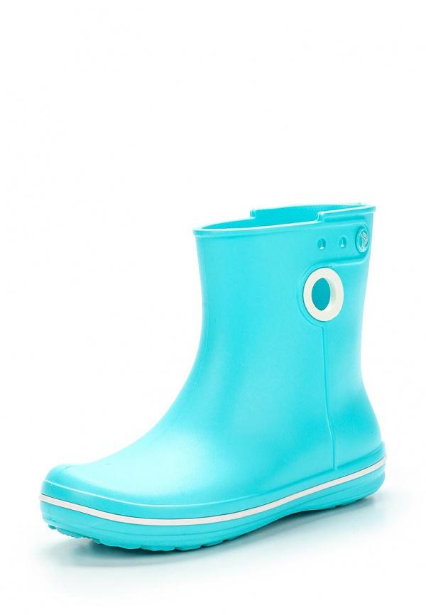 Резиновые полусапоги Crocs 15769-40M голубые