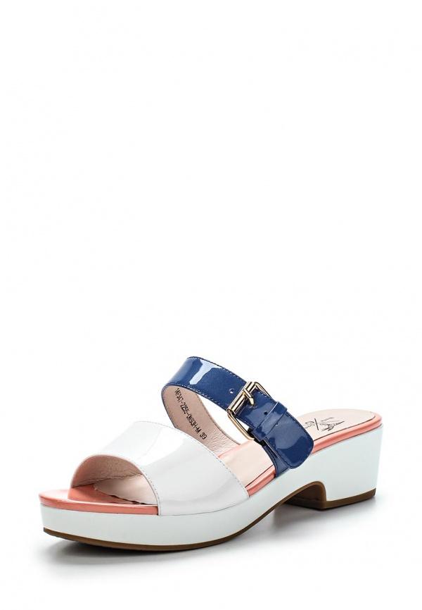 Сабо Sinta 14F347-2255-0W93H-M белые, розовые, синие