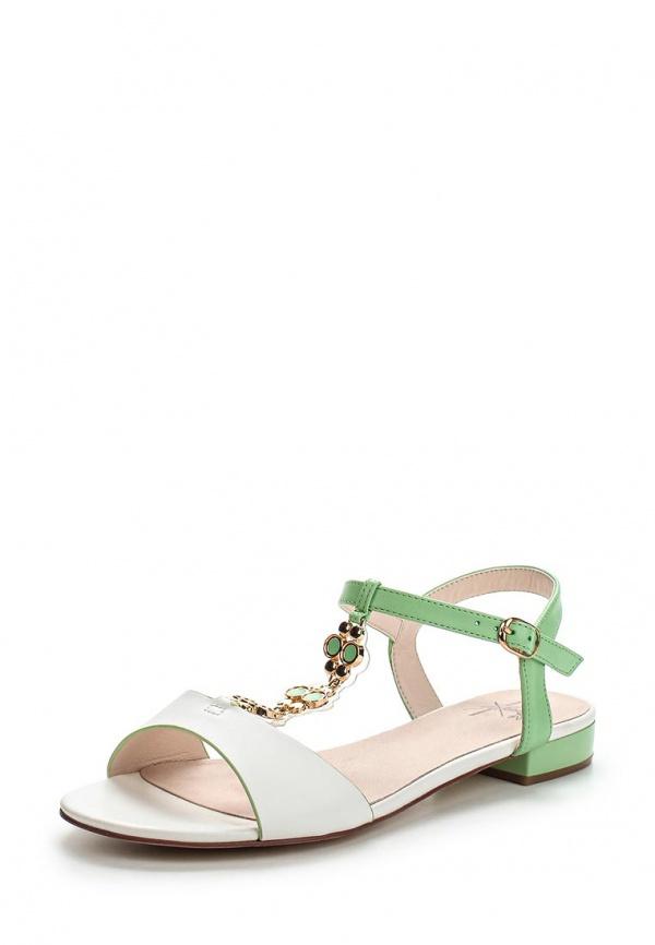 Сандалии Sinta 1511-6B-M белые, зеленые