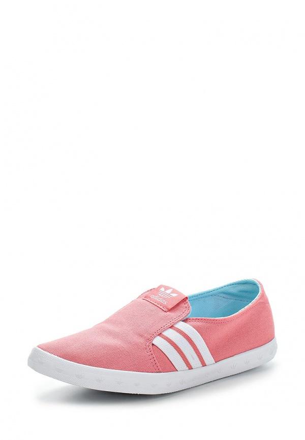 Слипоны adidas Originals M19532 розовые