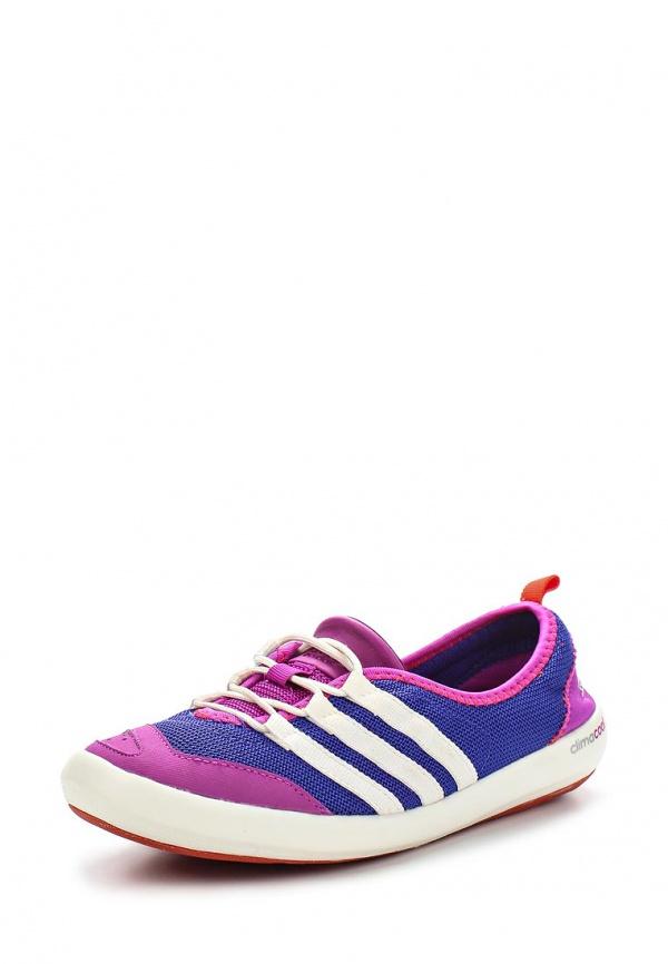 Кеды adidas Performance B44180 синие, фиолетовые