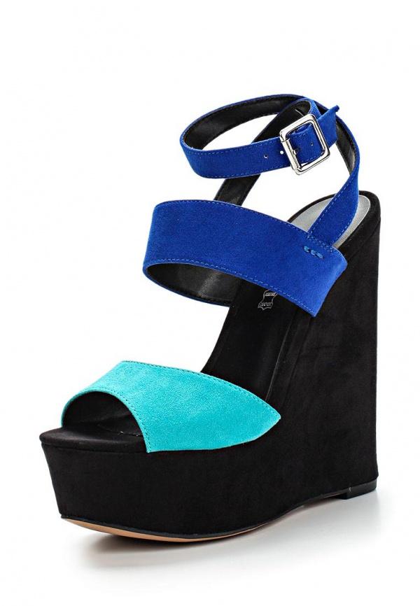 Босоножки Aldo RIPPLES синие, чёрные