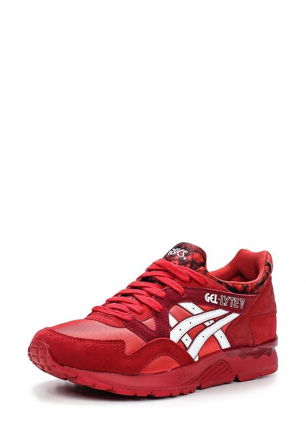 Кроссовки Asics H556L красные