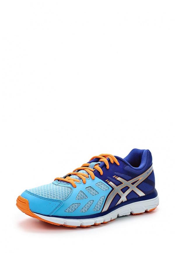 Кроссовки Asics T4D8N голубые, синие