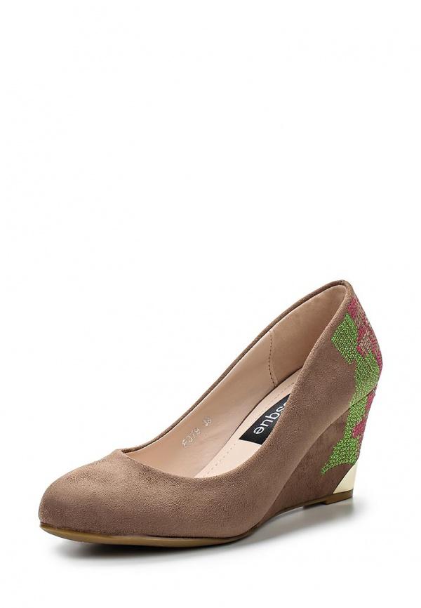 Туфли Burlesque HRC-1512-50 коричневые