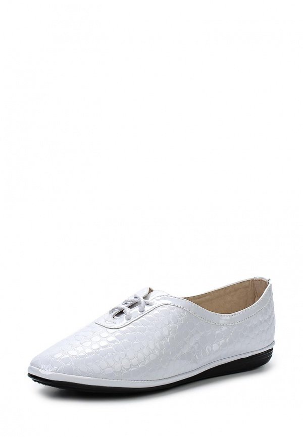 Ботинки Burlesque BI123-1 белые