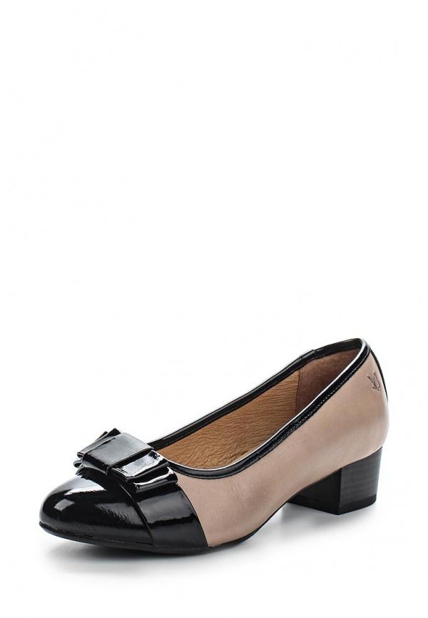 Туфли Caprice 9-9-22301-24-344 коричневые, чёрные