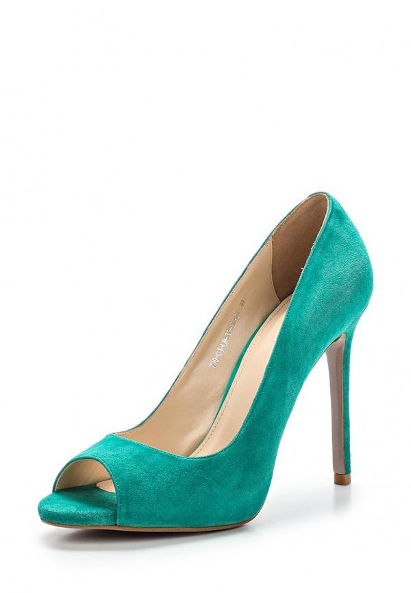 Туфли Calipso 719-01-LR-33-VK-01 зеленые