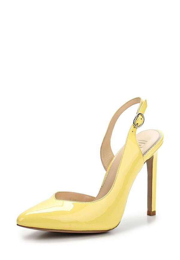 Туфли Calipso 728-04-LR-14-LK-01 жёлтые