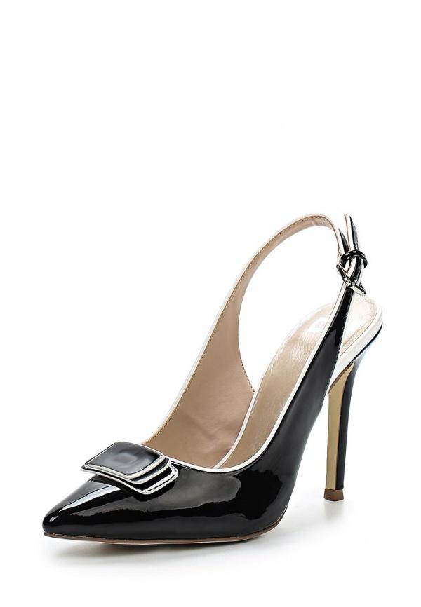 Туфли Calipso 870-02-PMTK-01-PP белые, чёрные