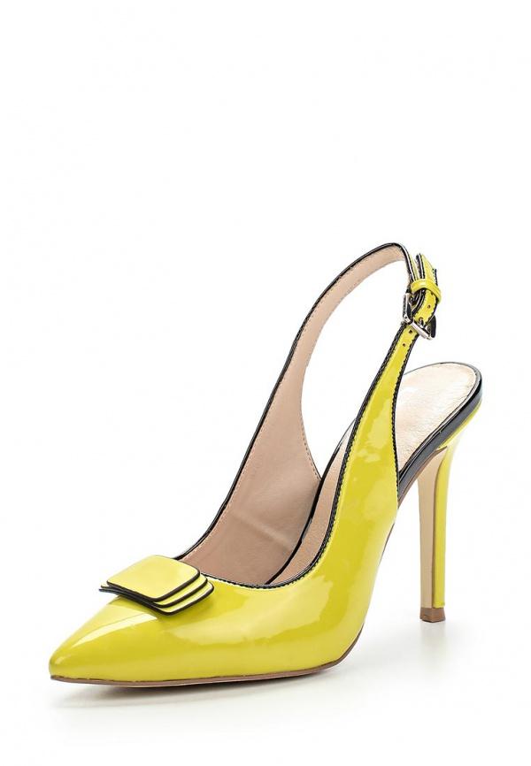 Туфли Calipso 870-02-PMTK-35-PP жёлтые