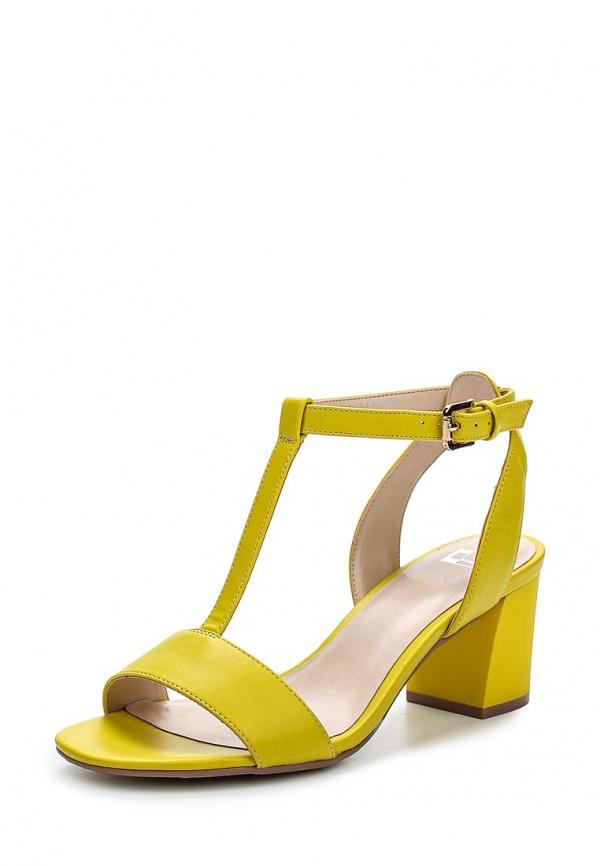 Туфли Calipso 872-02-PMTK-14-PP жёлтые