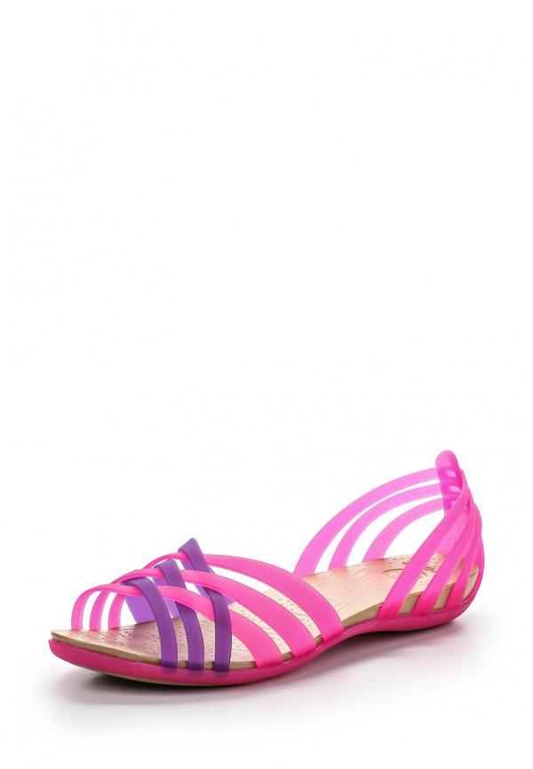 Сандалии Crocs 14121-6HN розовые, фиолетовые