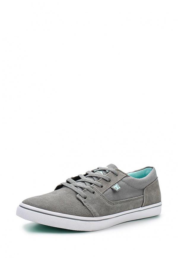 Кеды DC Shoes ADJS300043 голубые, серые