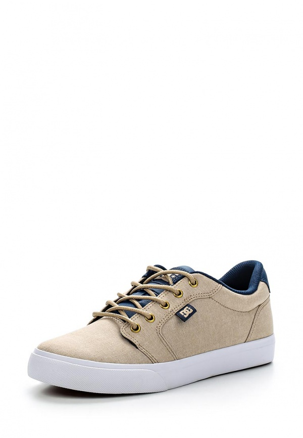 Кеды DC Shoes ADJS300050 бежевые