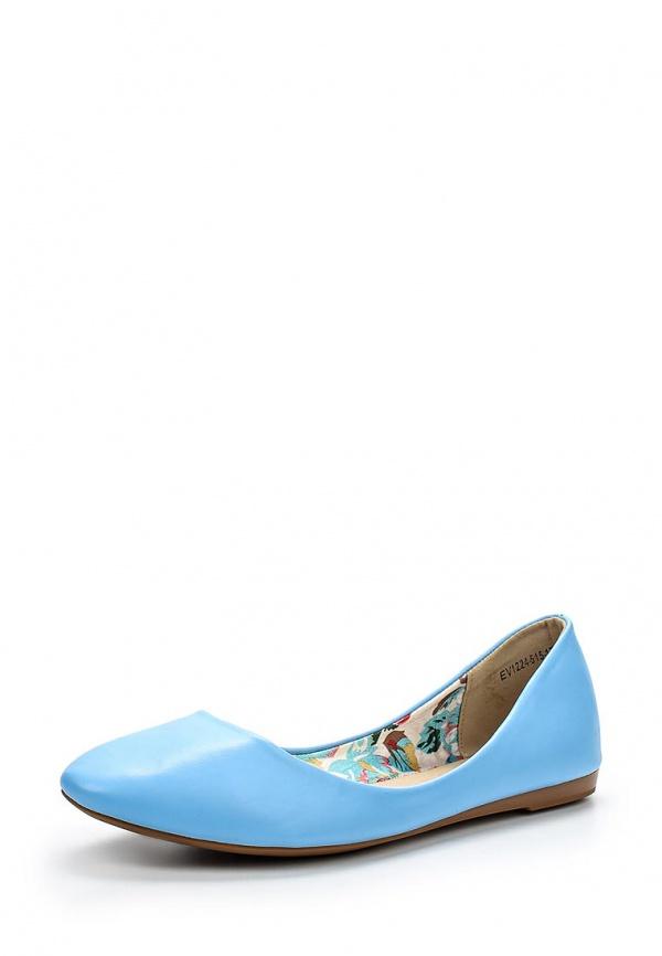 Балетки Evita EV1224-515-17 голубые
