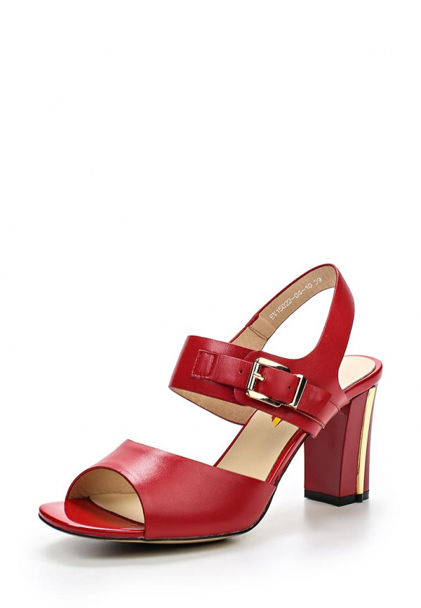 Босоножки Evita EV15022-04-10 красные