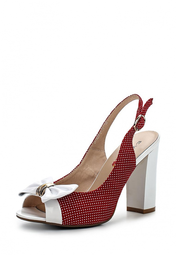 Босоножки Evita EV15207-2-10V белые, красные