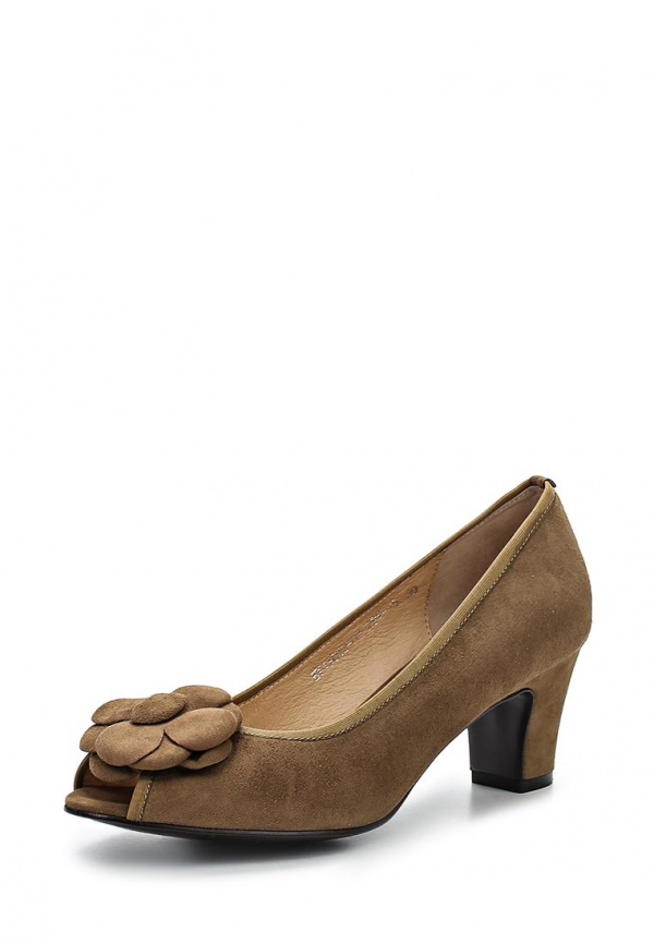Туфли Evita EV13012-03-29V-15 коричневые