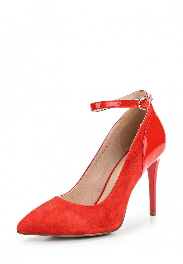Туфли Evita EV15013-3-10V красные