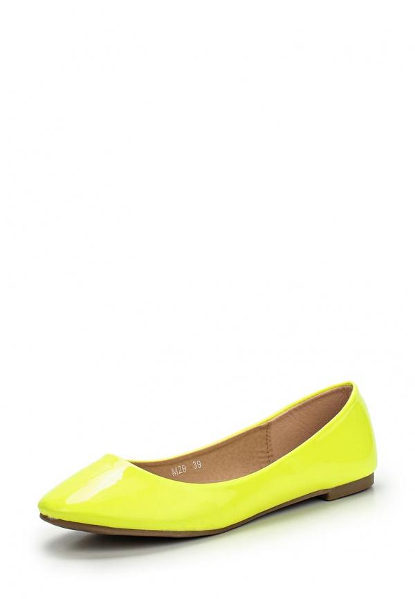 Балетки Girlhood M29 жёлтые
