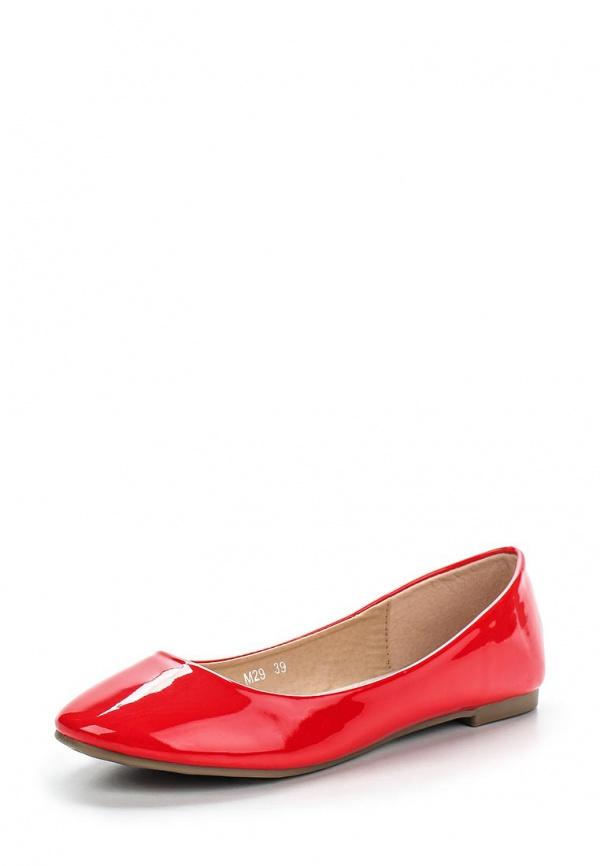 Балетки Girlhood M29 красные