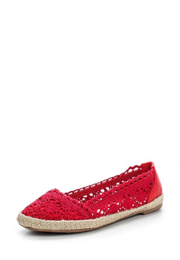 Балетки Girlhood D8-53 красные