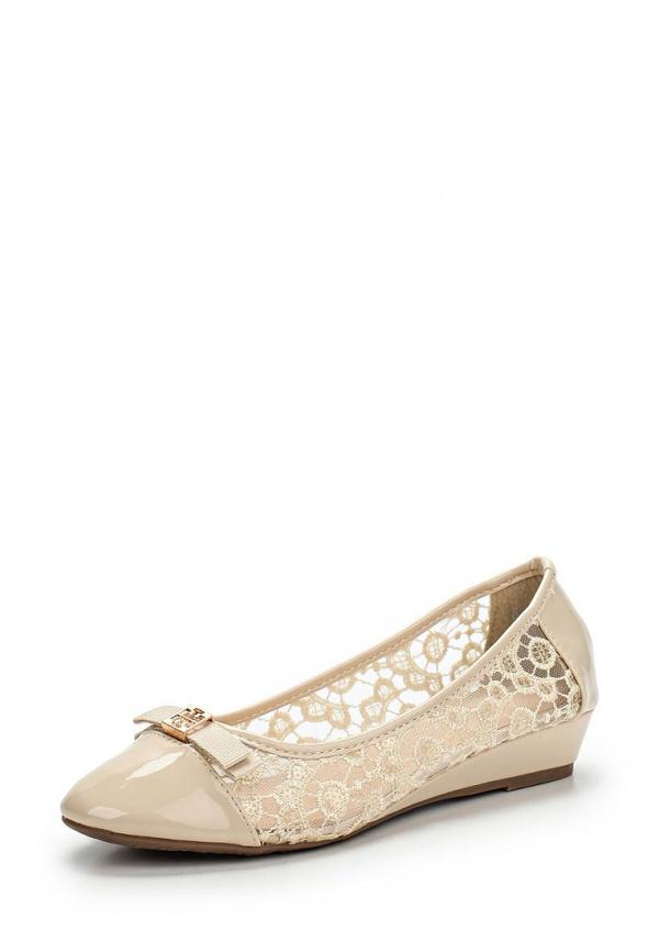 Туфли Girlhood D8-50 бежевые
