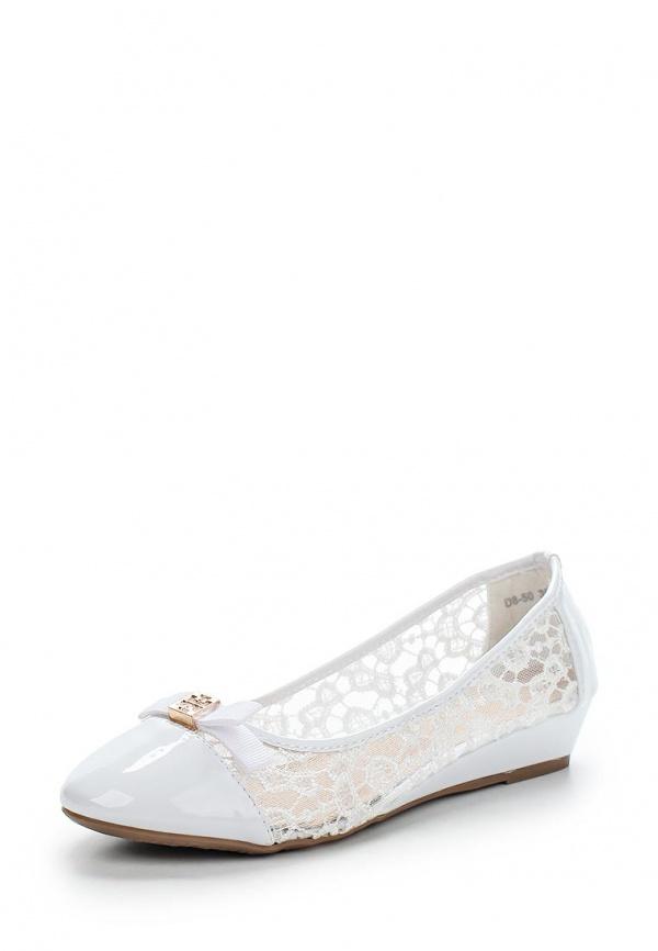 Туфли Girlhood D8-50 белые