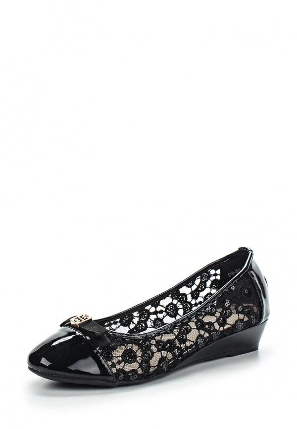 Туфли Girlhood D8-50 чёрные
