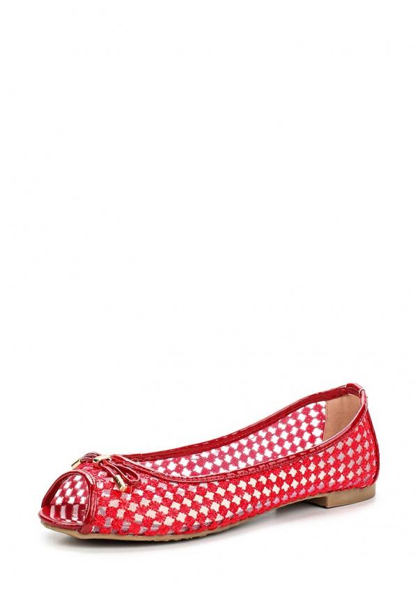 Балетки Girlhood J012 красные