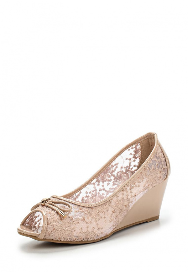 Туфли Girlhood J011 бежевые