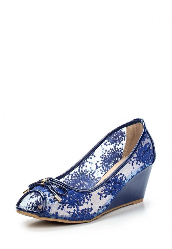Туфли Girlhood J011 синие