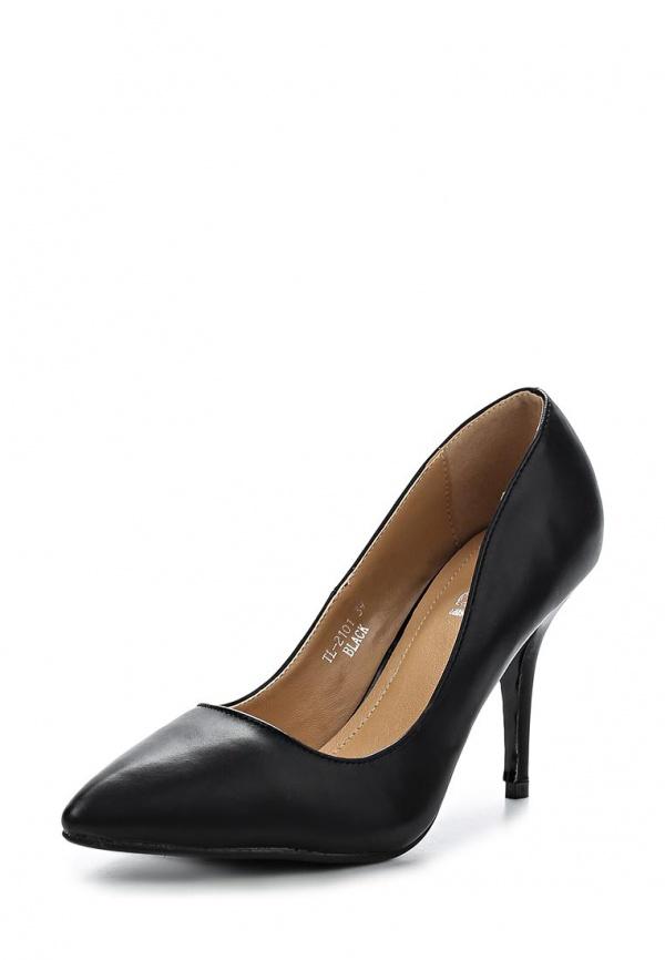 Туфли Ideal TL2101 чёрные