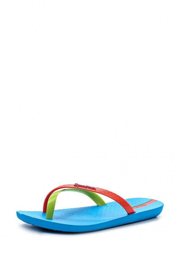 Сланцы Ipanema 81137-24010-A голубые, зеленые, красные