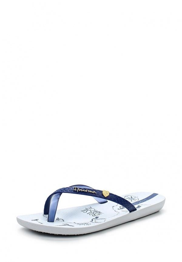 Сланцы Ipanema 81522-23887-A белые, синие