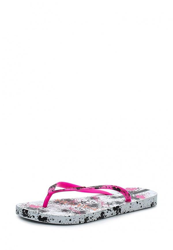 Сланцы Ipanema 81562-23900-A белые, розовые