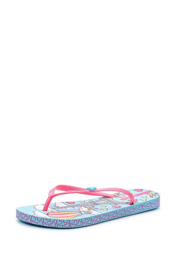 Сланцы Ipanema 81562-23904-A голубые, розовые