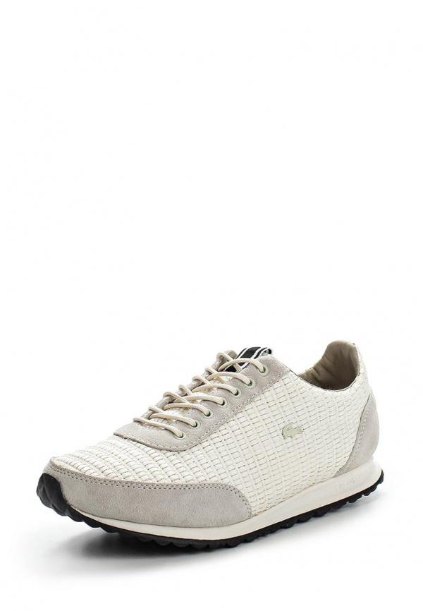 Кроссовки Lacoste SRW0114098 бежевые, белые