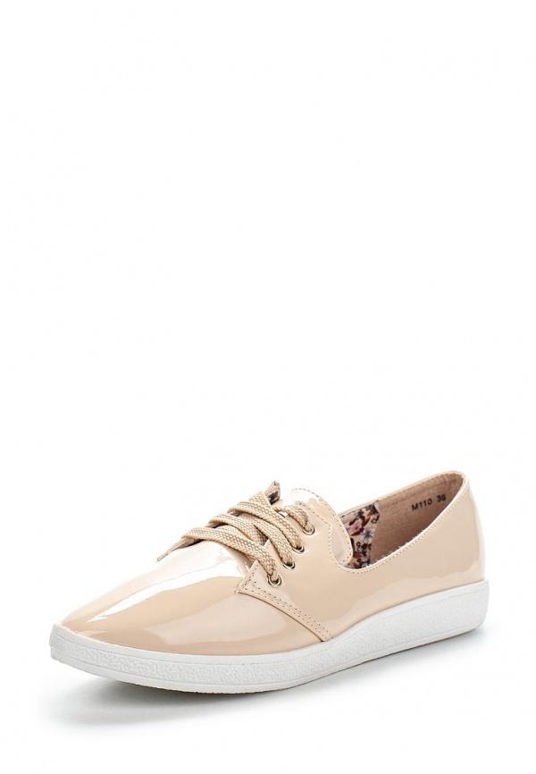 Кеды Max Shoes M110 бежевые