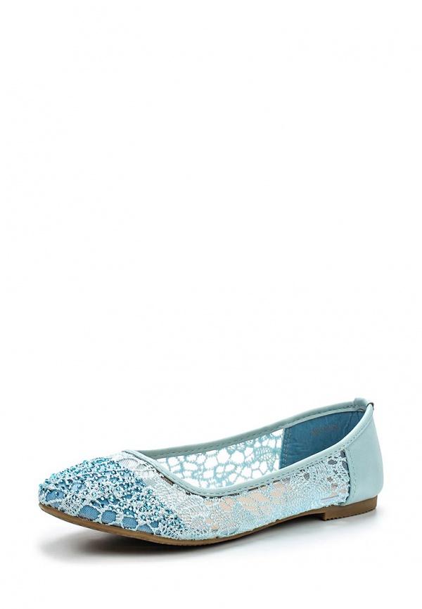Балетки Max Shoes 688-158 голубые