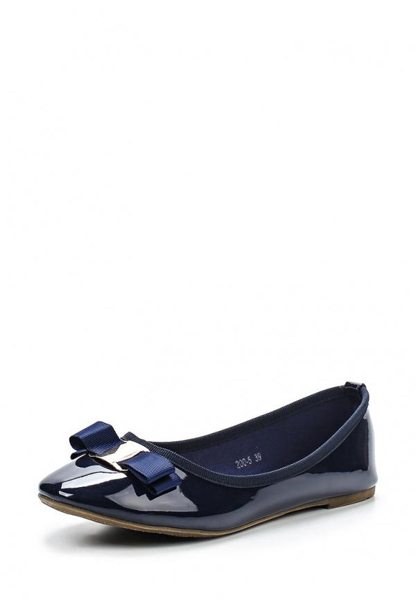 Балетки Max Shoes 200-5 синие