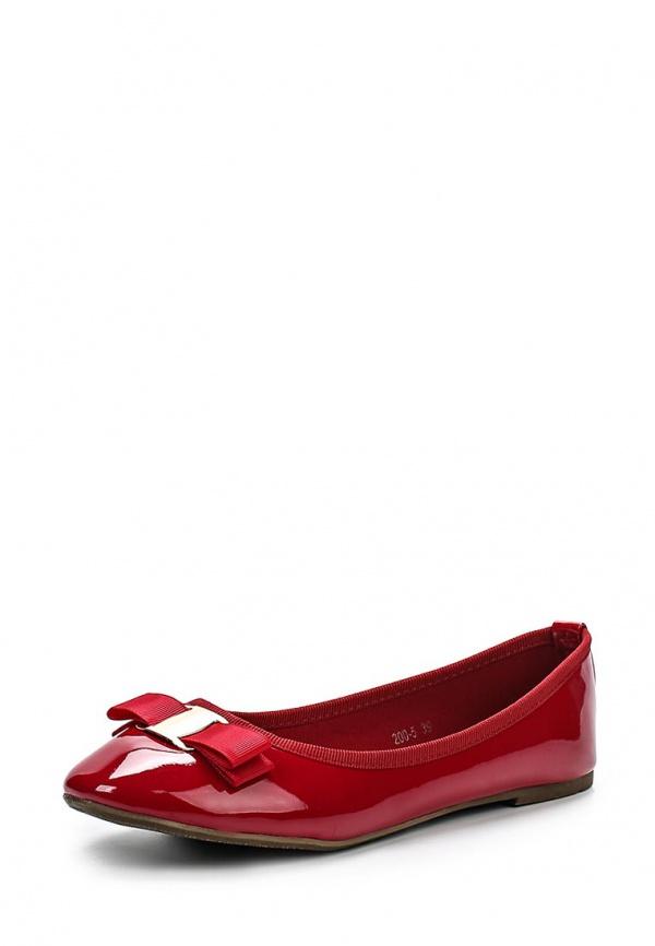 Балетки Max Shoes 200-5 красные