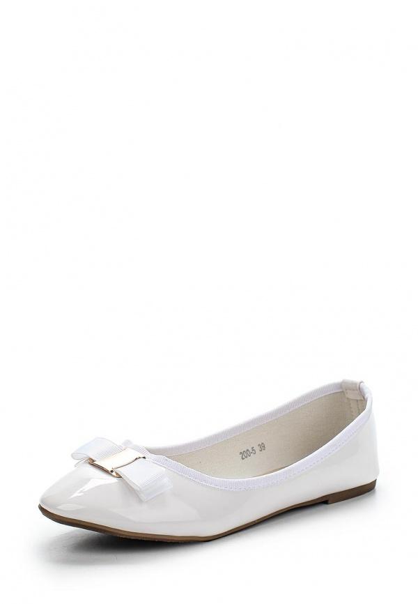 Балетки Max Shoes 200-5 белые