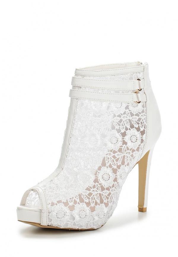 Ботильоны Max Shoes EL-423 белые