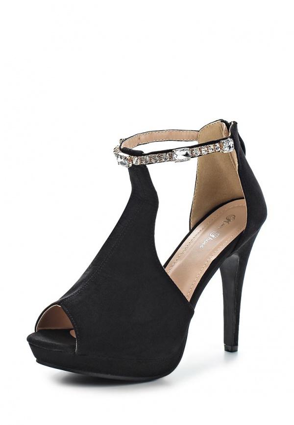 Босоножки Max Shoes EL-425 чёрные