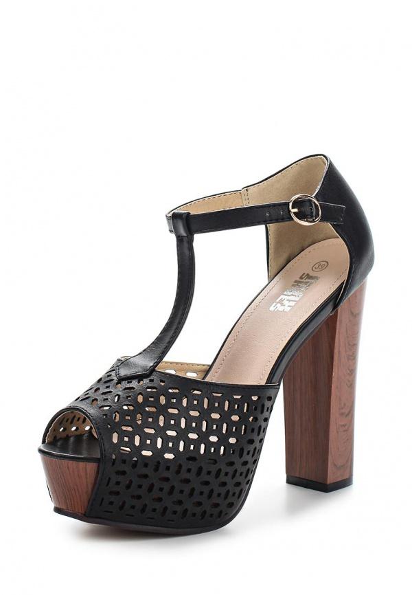 Босоножки Max Shoes 8359-3 чёрные