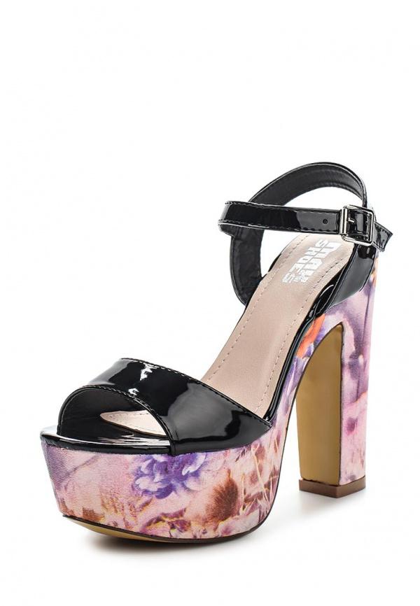 Босоножки Max Shoes LL1579-1 чёрные